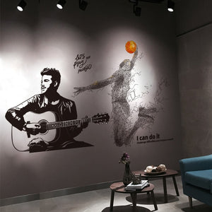 Basketball Player Wall Sticker-For your kids room