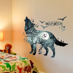 Wolf Wall Stickers