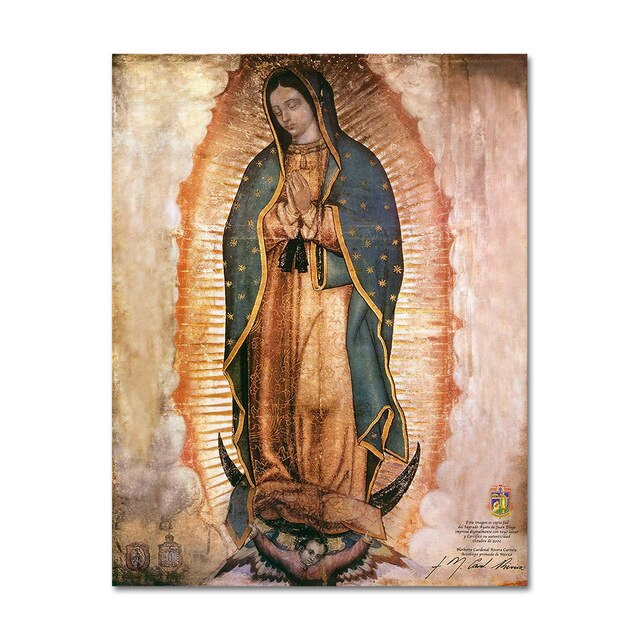 Virgin of Guadalupe Print Poster