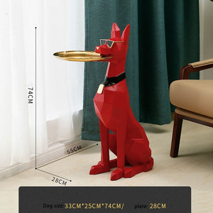 Nordic Decoration Doberman Statue
