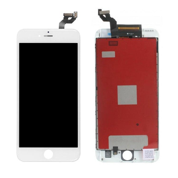 For iPhone 6S Plus LCD & Digitizer (Aftermarket, Premium Plus) - White