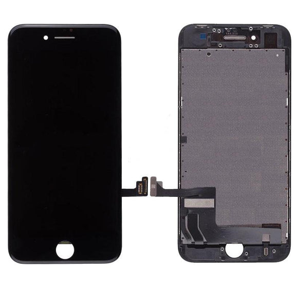 For iPhone 8 LCD & Digitizer (Hybrid) - Black