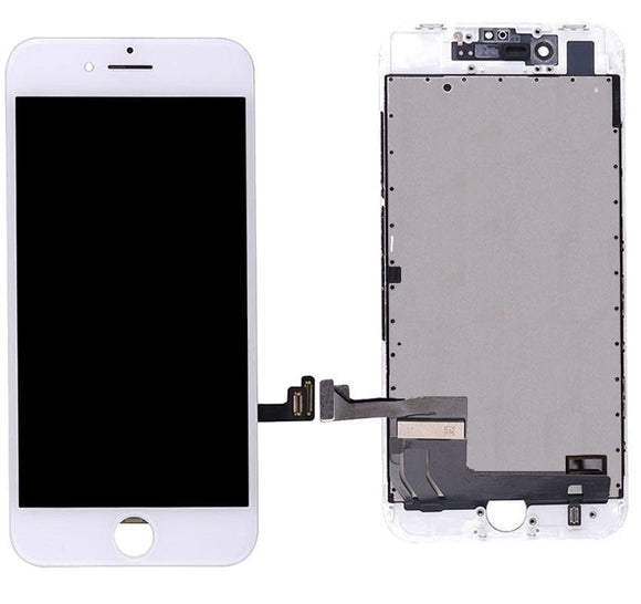 For iPhone 8 | SE 2020 & Digitizer (Hybrid) - White