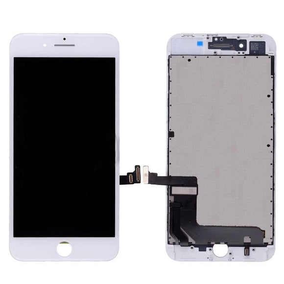 For iPhone 8 | SE 2020 LCD & Digitizer (Aftermarket, Premium Plus) - White