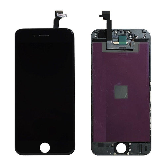 For iPhone 6 LCD & Digitizer (Aftermarket, Premium Plus) - Black