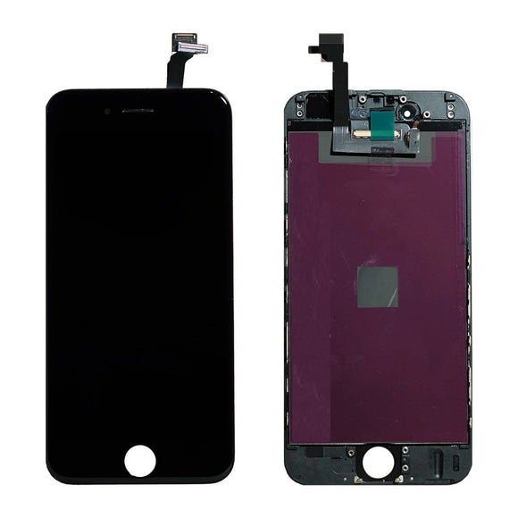 For iPhone 6 LCD & Digitizer (Hybrid) - Black