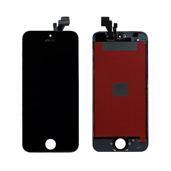 For iPhone 5 LCD & Digitizer (Aftermarket) - Black