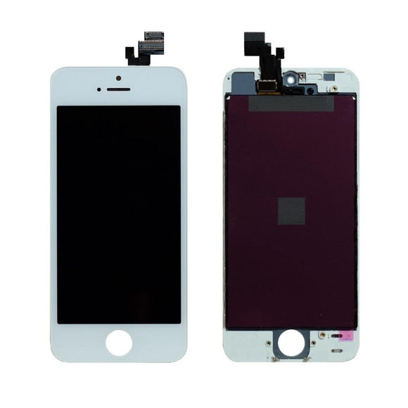 For iPhone 5 LCD & Digitizer (Aftermarket) - White