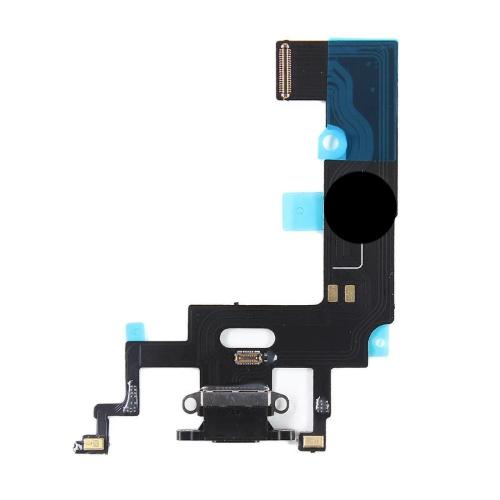 For iPhone XR Charging Port - Black