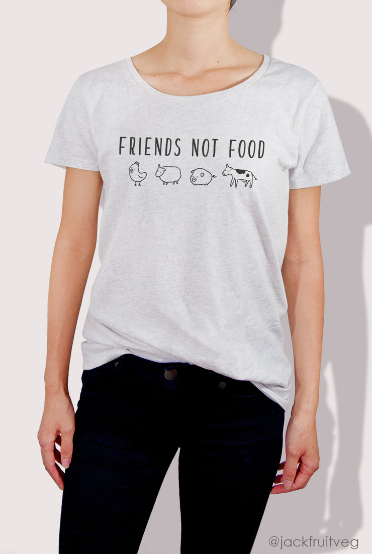 Friends Not Food Tee