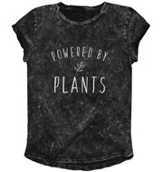 Powered By Plants Rolled Sleeve Tee