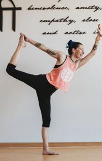 Yoga is for Lovers Crop Tank - MAI Movement