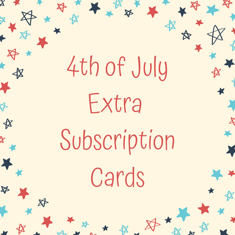 EXTRA JUNE SUBS (4th of July)