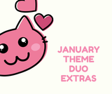 JANUARY THEME DUO EXTRAS *limited*