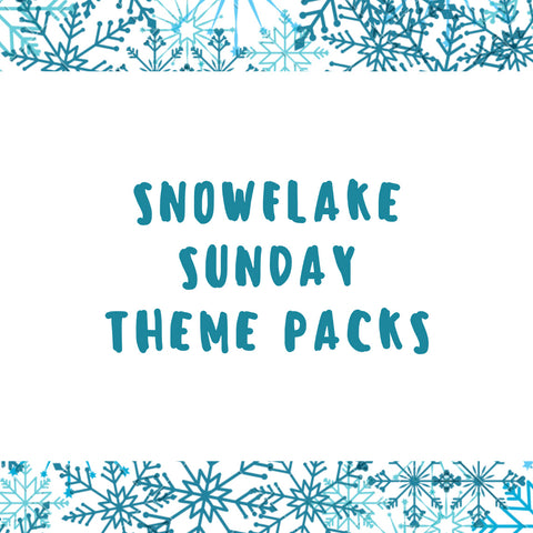 SNOWFLAKE THEME PACKS