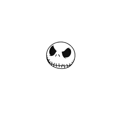 Jack Skellington Face