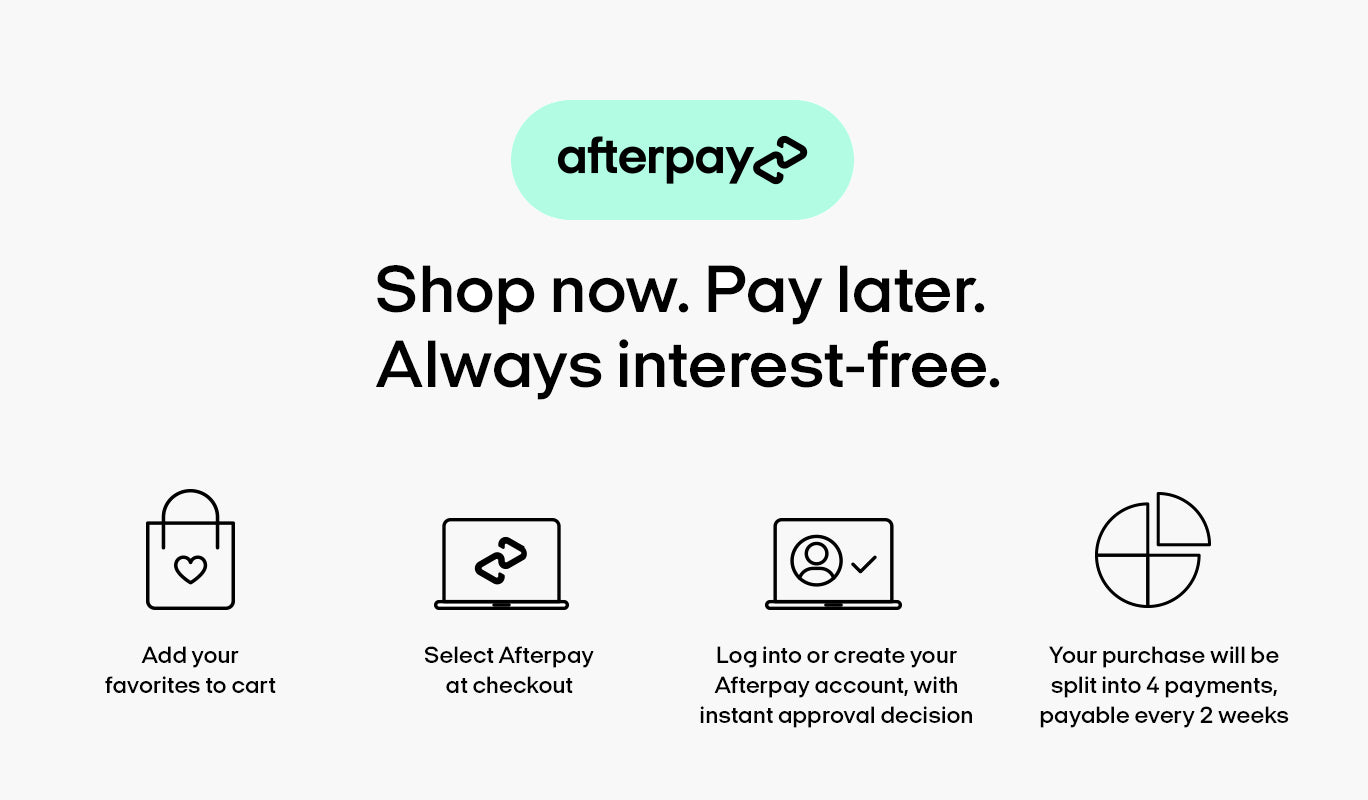Advanced Payments with Afterpay at Advanced Primate