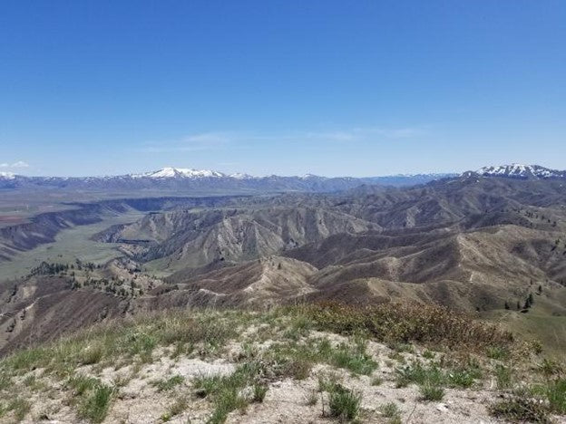 View from top of Kepros Mountain, Idaho