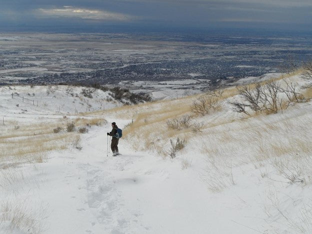View of Boise from Shaw Mountain Trail