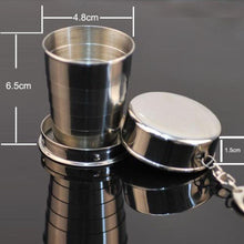 Stainless Steel Telescopic Shot Glass