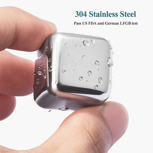 Chilling Stones--Stainless Steel