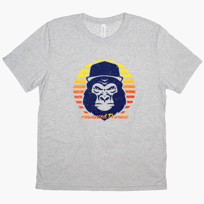 Advanced Primate 90s Retro Sunset Gorilla Tee
