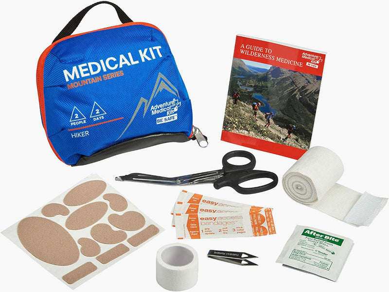 Adventure Medical hiker Kit -- contents view