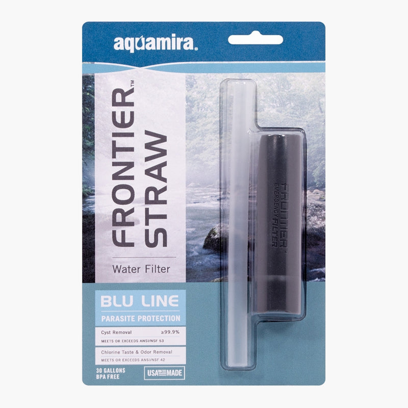 Aquamira Frontier Straw Water Filter -- package view