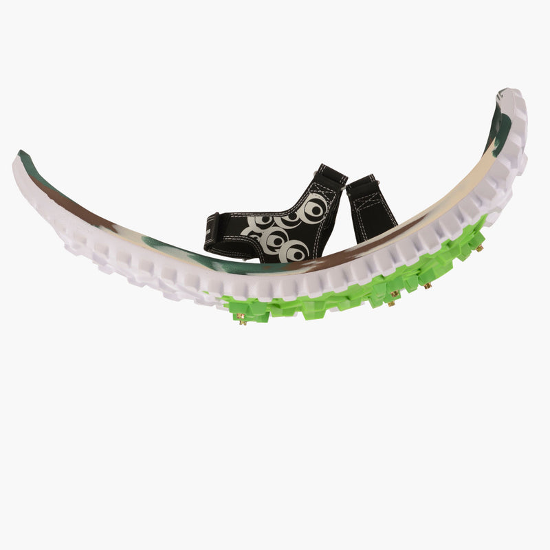 crescent moon snowshoes eva camo--side view