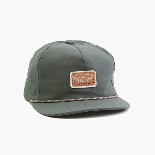 Big Sur 5-Panel Blue Green Cap
