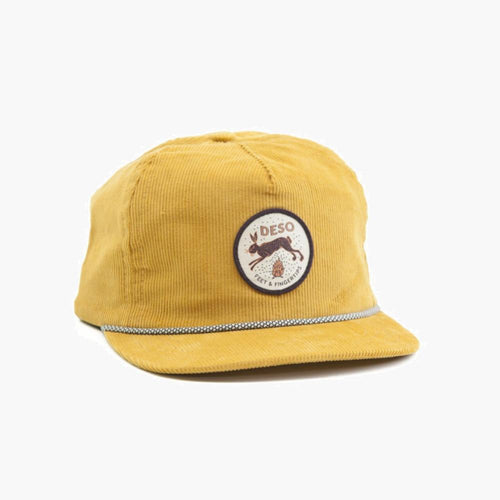 Feet & Fingertips 5-Panel Corduroy Cap