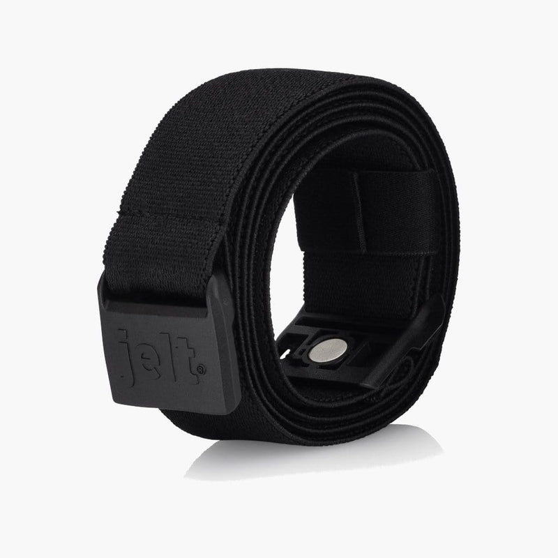 JeltX Black Adjustable Elastic Belt--rolled
