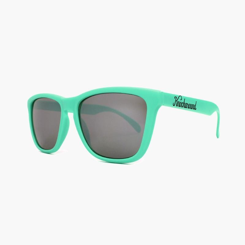 Mint Green/Smoke Classics--angled view