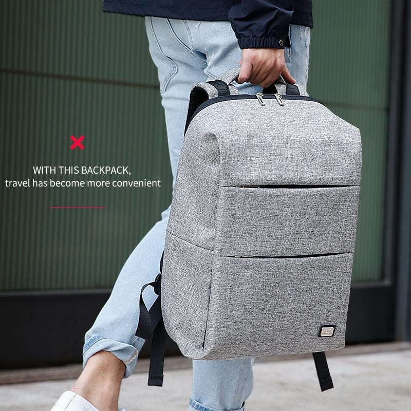 The Edge Backpack--in use