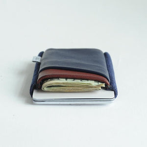 TGT Midnight & Oxblood Deluxe Wallet--filled