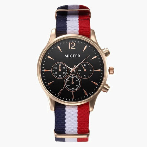 American Canvas Band Watch