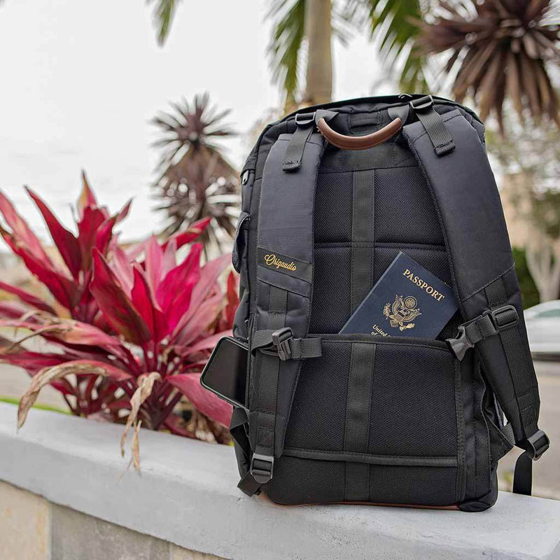 Black Presidio Pack--back pouch