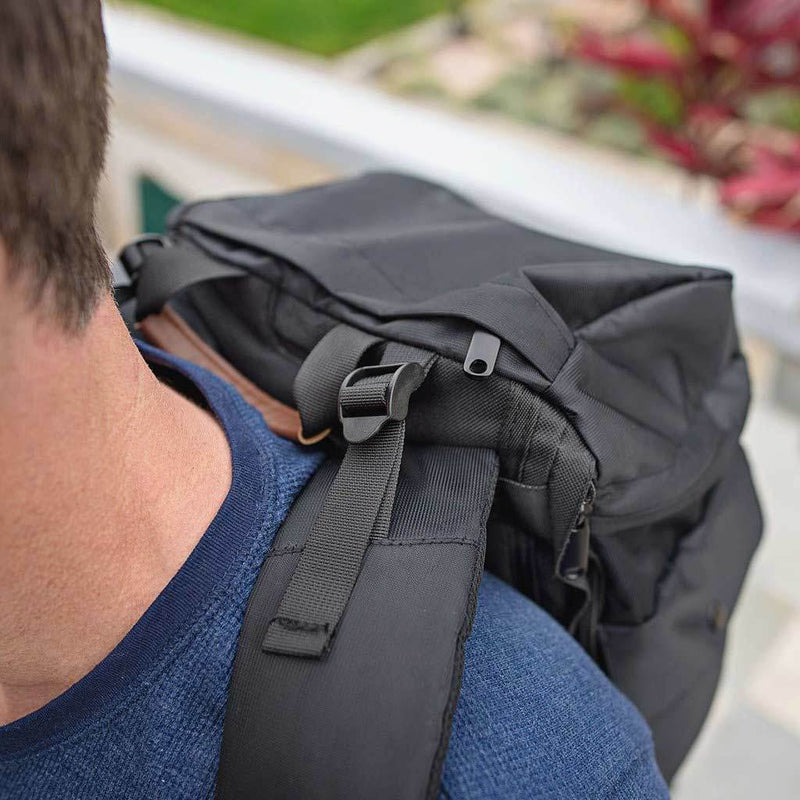 Black Presidio Pack--straps