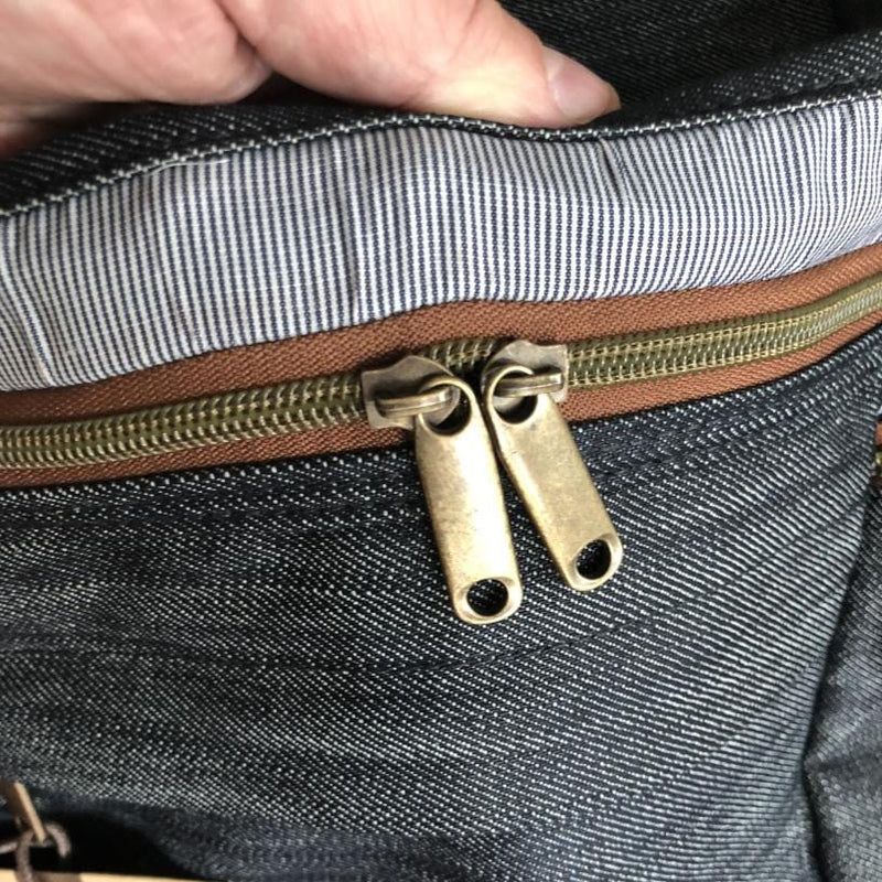 Denim Presidio Pack--zippers
