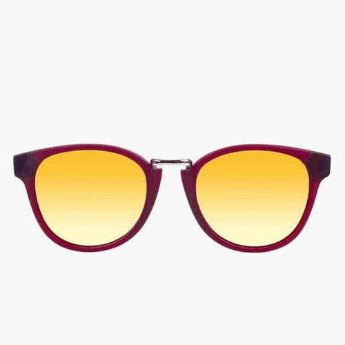 Ada Eco Matte Maroon // Gold Mirror Polarized Lens