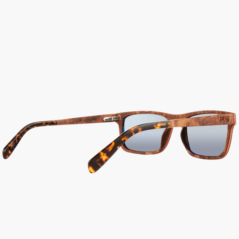 Boise Wood Rosewood/Polarized Lens--right side rear view