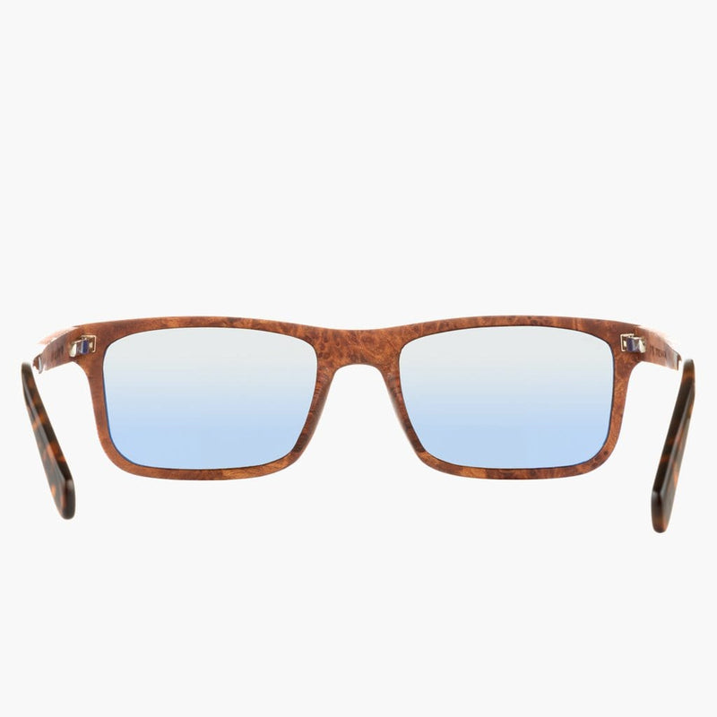 Boise Wood Rosewood/Polarized Lens--rear