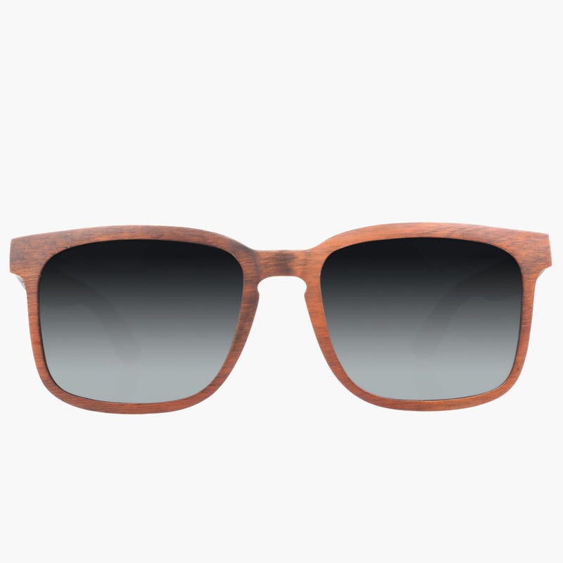 Federal  Wood Stained/Polarized Lens--front