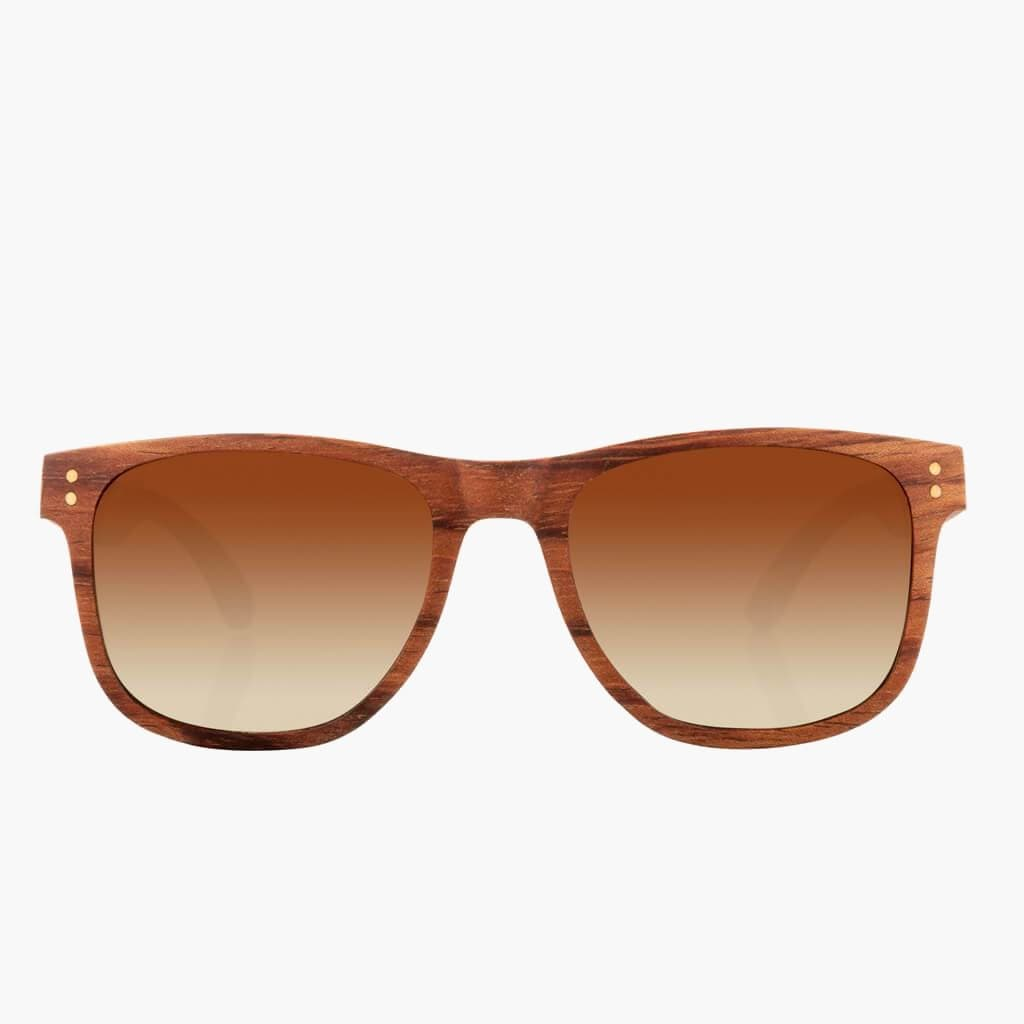 Ontario Wood Mahogany // Brown Fade Polarized Lens