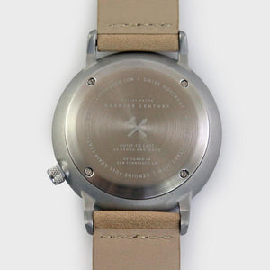 Graphite Steel Quarter Century Watch