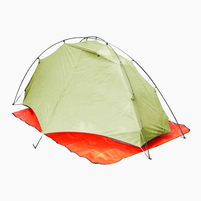 Survive Outdoors Longer All Season Blanket--under tent view