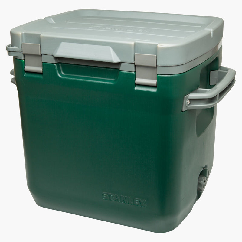 Stanley Adventure Cold for Days Outdoor Cooler 30qt Green--angled view no label