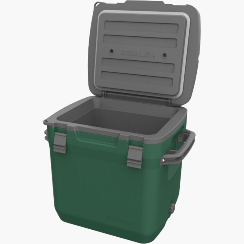Stanley Adventure Cold for Days Outdoor Cooler 30 qt Green--open view
