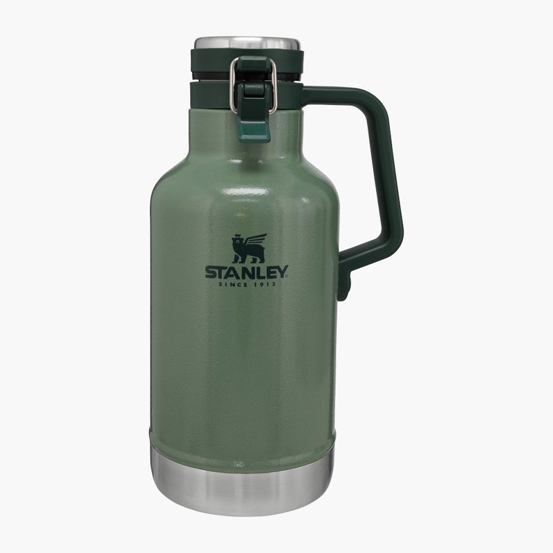 Stanley Classic Easy Pour Growler Green--front view