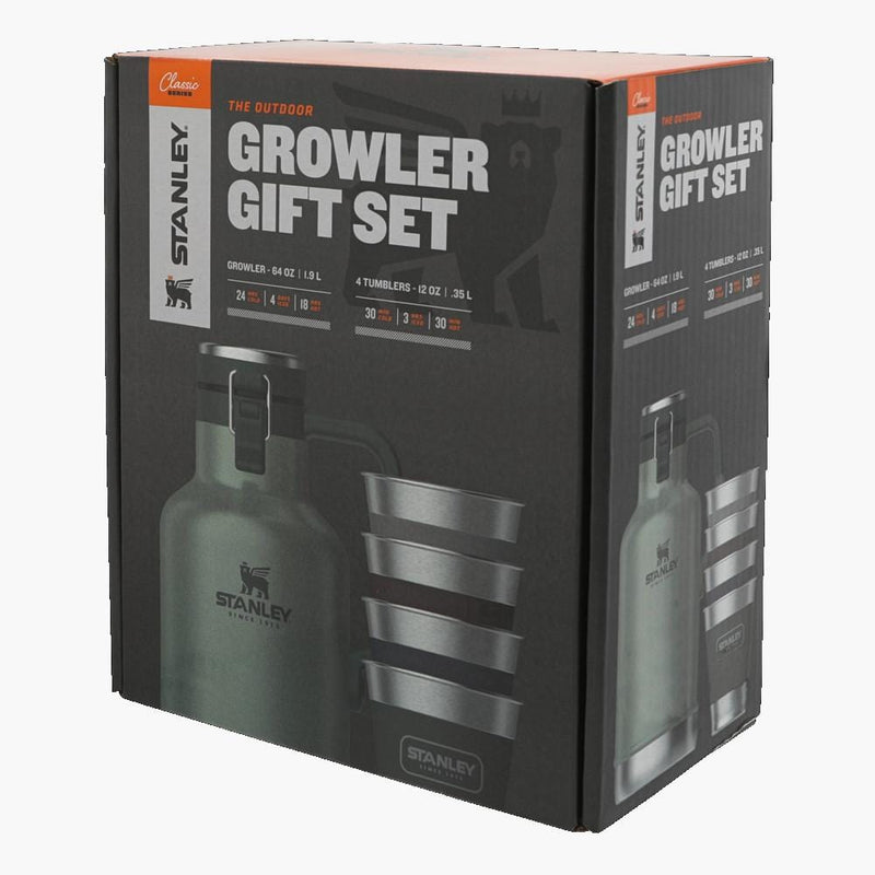 Stanley Classic Growler Gift Set Green--box view